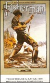 1987 Two On The Line by L.W. Dukes - Remington Bullet Knife Posters - THE FISHERMAN
